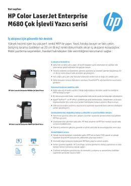 Ürün Broşürü - Kiralık Yazıcı ve Fotokopi