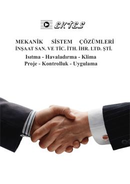 katalog son hali.cdr - Ektes Mekanik LTD. ŞTİ.
