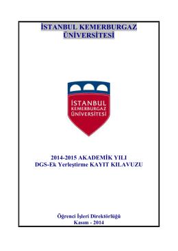 linke - İstanbul Kemerburgaz Üniversitesi