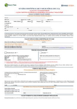 kt kira sertifikaları varlık kiralama a.ş.