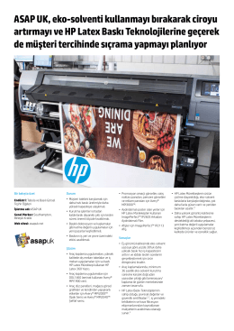 HP Latex 300 Printer | IT case study | ASAP UK | HP