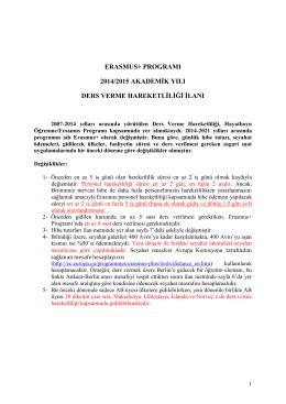 DERS VERME 2014-2015 1.ilan