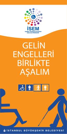 Engelliler Müdürlüğü Broşür - İstanbul Büyükşehir Belediyesi