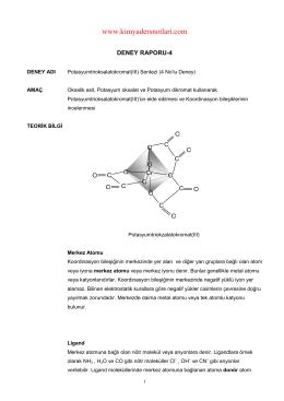 İndir (PDF, 208KB) - Kimya Ders Notları