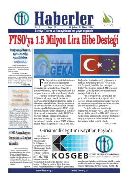 Şubat 2014 - Fethiye Ticaret ve Sanayi Odası