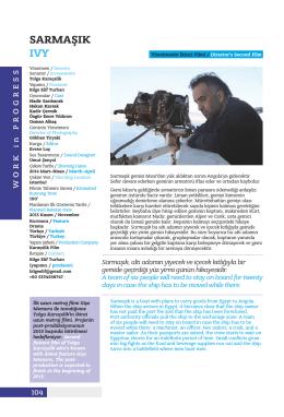 Sarmaşık - Altın Portakal Film Festivali