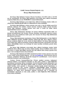Tek Metin Haline Getirilmiş IBD 17/07/2014