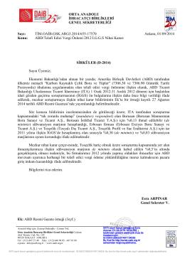 ABD/Telafi Edici Vergi Önlemi 2012 İ.GGS Nihai Kararı