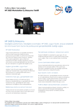 HP Z420 WM543EA Workstation