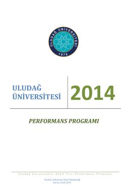 Nihai - Uludağ Üniversitesi