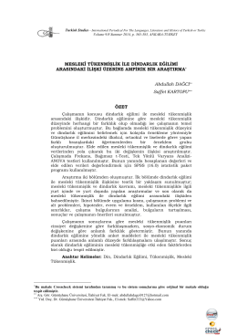 Tam Metin (PDF) - Turkish Studies