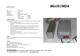 Teknik Özellikler (pdf)