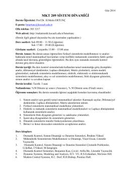 Sistem Dinamiği_Tanıtım Güz_2014-15-09-2014-16-21