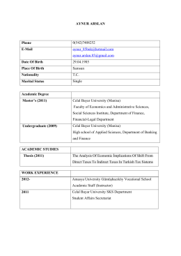 AYNUR ARSLAN Phone 0(542)7408252 E