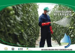 Bitki Koruma Ürünlerinin Güvenli ve Sürdürebilir Kullanımı