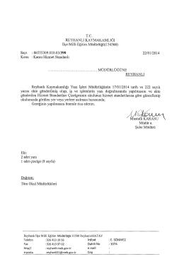 ffiiuıs 1 - reyhanlı ilçe millî eğitim müdürlüğü