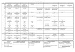 Ders Programları 2013-2014 Bahar Dönemi Sba