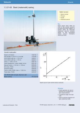 Mekanik 1.3.21-00 Basit (matematik) sarkaç
