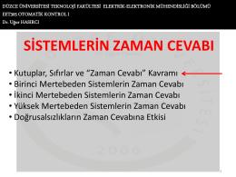 Ders 3 - Düzce Üniversitesi