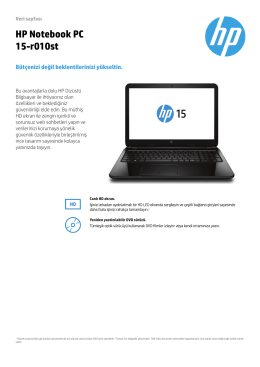 HP 15-r010st Notebook PC