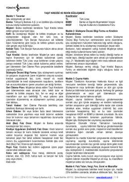 Taşıt Kredisi - Türkiye İş Bankası