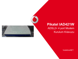 Pikatel IAD421W