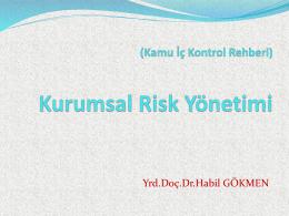 Dokuz Eylül Üniversitesi Risk Yönetimi