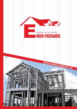 Katalog - Prefabrik Evler
