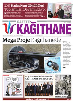 Mega Proje Kağıthane`de