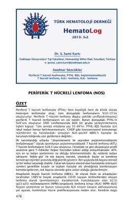 HematoLog - Türk Hematoloji Derneği