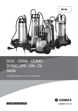 DOC - DIWA - DOMO DOMO GRI - DN - DL Serisi