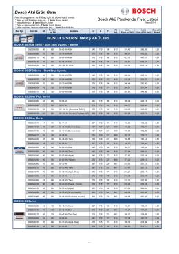 1-Bosch Aü fiyat listesi 2014 (mayıs)