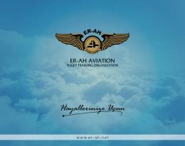E-katalog - Er-Ah Uçuş Okulu