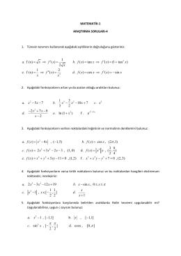 Araştırma Soruları-4