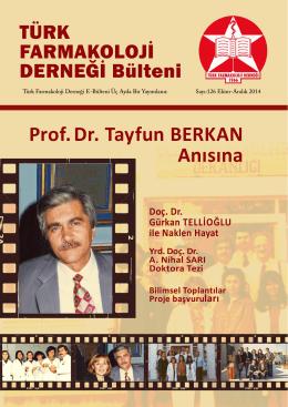 126 - Türk Farmakoloji Derneği