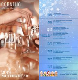 yeni yıl programı - Cornelia De Luxe Resort