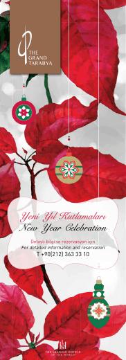 Yeni Yıl Kutlamaları New Year Celebration