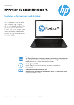 HP Pavilion 15-n286st Notebook PC