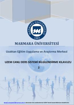 MARMARA ÜNİVERSİTESİ