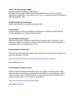 Proje listesi - WordPress.com