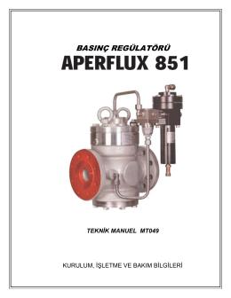 aperflux851 manuel (tr )