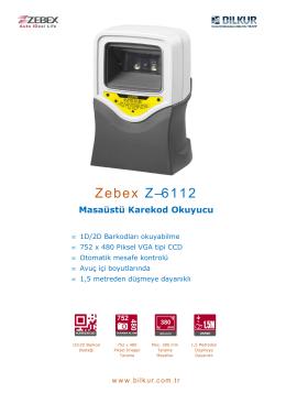 Zebex Z-6112 Teknik Özellikler
