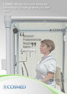 Cosmed Respiratory Care