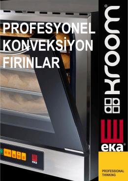 EKA Elektrikli Konveksiyonlu Fırın - Bakery 4 Tepsi