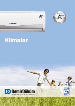 A 4 Duvar Tipi Inverter Klima Broşürü | PDF