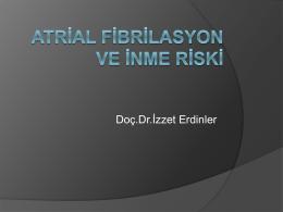 İzzet Erdinler - 4. atriyal fibrilasyon zirvesi 2015