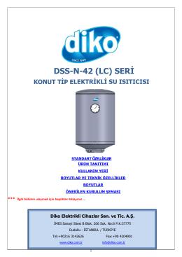 DSS-N Serisi 42 cm Çap