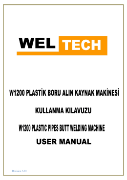 W1200 Kullanım Kılavuzu