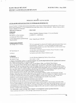 KAMU IHALE BULTENI 06 $UBAT 2014