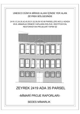 ZEYREK 2419 ADA 35 PARSEL